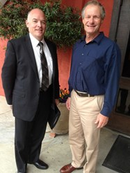 Madera County Sheriff Candidate Jay Varney with Madera Mayor Robert Poythress