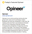 "Entrepreneurial Website Opineer.com Launches Its ""Featured Opineer""..."