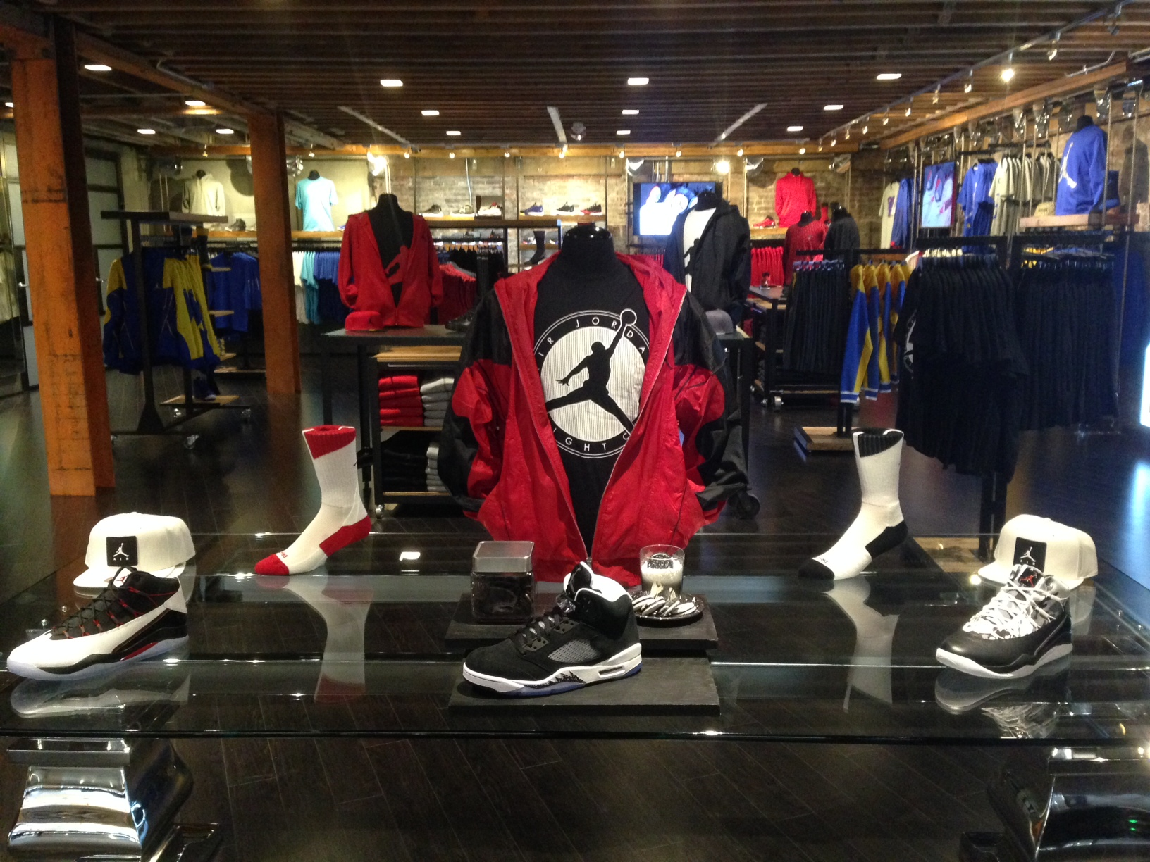 firstever jordan only store opens at shiekh shoes