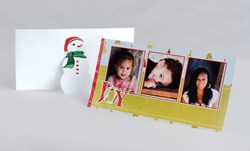 Holiday Props - stylish, decorative stands that display holiday photocards just like picture frames
