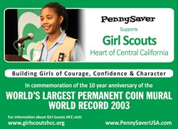PennySaver Supports Girl Scouts Heart of Central California