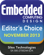 Silex Wins Editor's Choice Award for Linux Software Development...