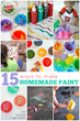 Easy Homemade Paint Recipes Have Been Released On Kids Activities Blog