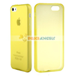 Frosted Protective Case for iPhone 5C (Yellow)