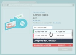 Coupons at Checkout (Example)