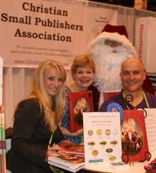 Tamara Amos, David W. Luebbert, Karen Eagle, Santa Claus, ICRS, Book Signing