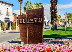 El Paseo Art Walk in Palm Desert CA
