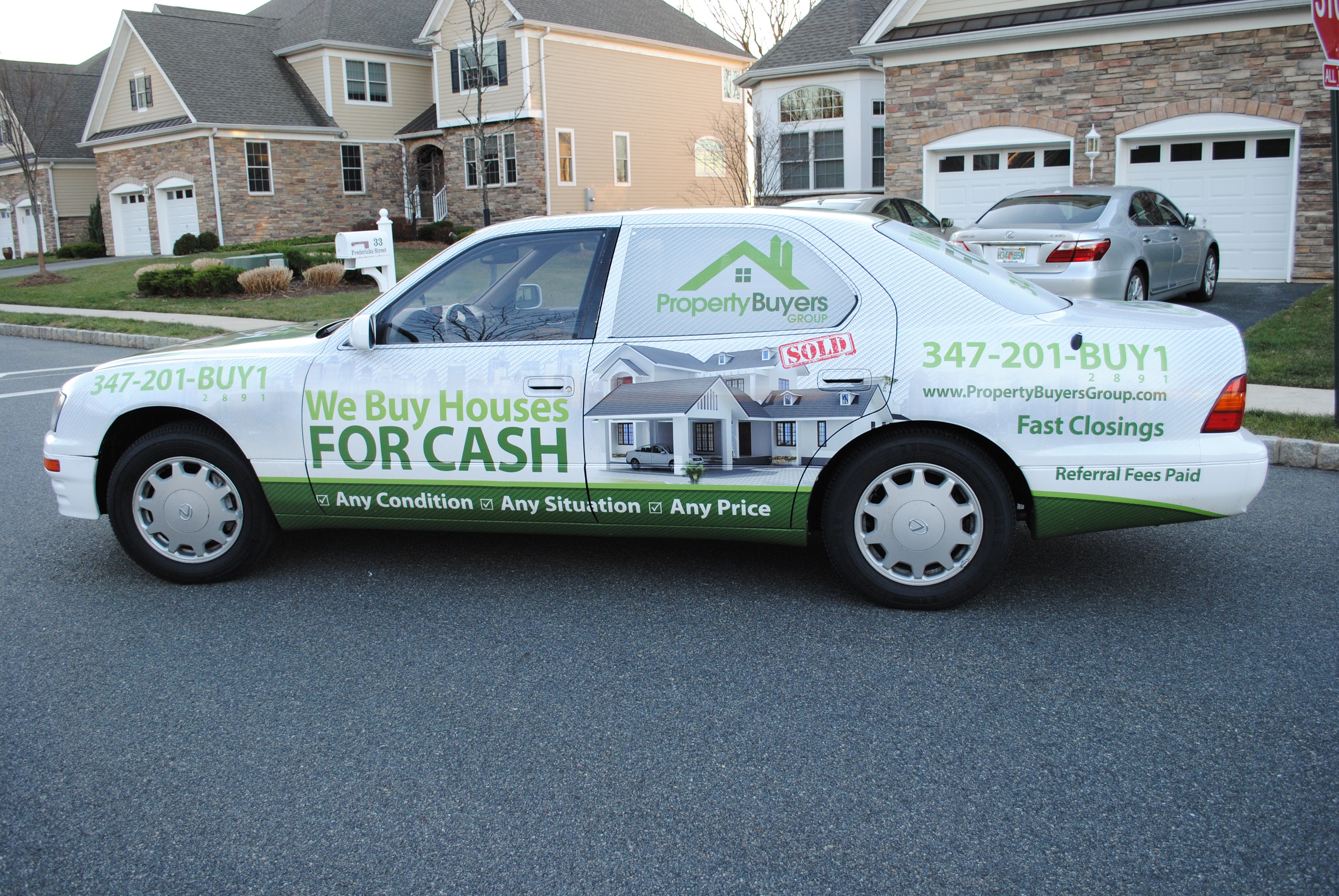 Car Real Estate: Property Buyers Group Now Implementing Car Wraps To Take