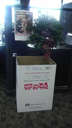 CR of Adrian collects gifts for Toys for Tots in Michigan