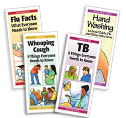 Whooping Cough: 9 Things Everyone Should Know; TB: 8 Things Everyone Should Know: Flu Facts: What Everyone Should Know; Hand Washing to Avoid Colds, Flu and Other Infections