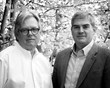 Tom Ward and Mitch Blake of Ward + Blake Architects, recently named Firm of the Year by AIA WMR.