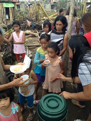 Reliv Kalogris Foundation, Typhoon Haiyan, Philippines, Nourish Our World, Reliv mission