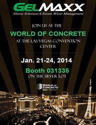 World of Concrete 2014 with Gelmaxx