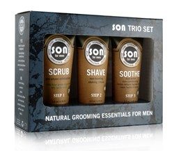 Grooming Shaving Trio Set for Men.