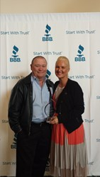 bill and tina howe, bbb torch award finalists