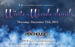 Winter Wonderland Penthouse Club San Francisco
