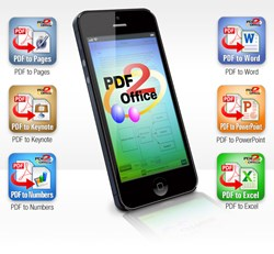 PDF to Pages, PDF to PowerPoint, iPhone