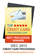 MONEXgroup Ranked the #1 Rated Payment Processor in Canada by Credit...