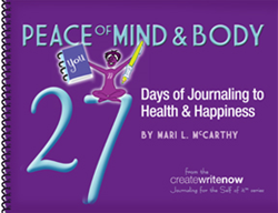 27 Days Journaling Challenge Workbook Cover