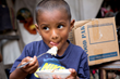 Children's Hunger Fund Brings Food to Children in Need.