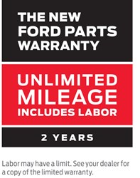 Ford Service Parts Warranty