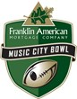 The Franklin American Mortgage Music City Bowl Logo