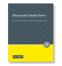 Working With Creative Teams White Paper