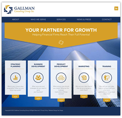 Gallman Consulting Website