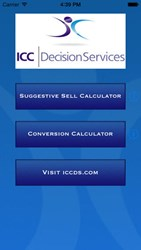 ICC/Decision Services Announces Availability of ICC ROI Calc App