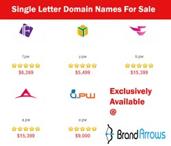single letter domain names