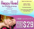 Happy Head Massage in San Diego Locations
