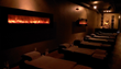 Group foot reflexology massage room in San Diego