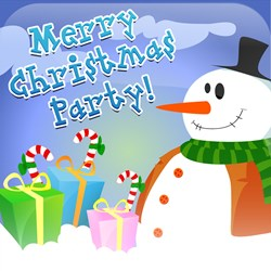 Merry Christmas Party App Icon