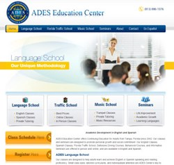 ADES Center Website