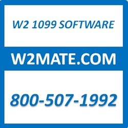 W2 Mate W2 / 1099 Print e-File Software