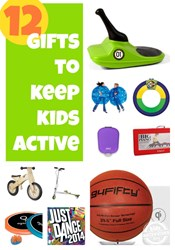 gifts that keep kids active