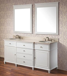 Avanity Bathroom Vanity - 72 White WINDSOR-V72-WT