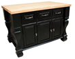 Hardware Resources Jeffrey Alexander ISL01-DBK Kitchen Island