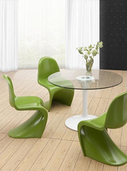 Zuo Modern S Chair Green 103185
