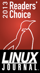 2013 Linux Journal Reader's Choice Award
