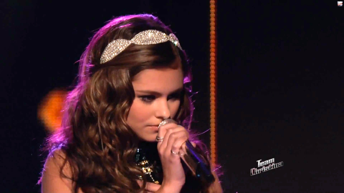 Rhinestone headband by bbt style as worn by jacquie lee on quot the voice