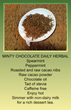 Minty Chocolate Daily Herbal Tea