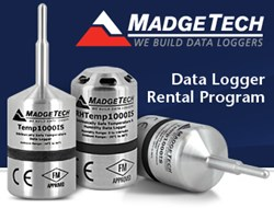 MadgeTech Data Logger Rental Program