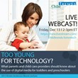 Too Young for Technology? What Parents and Child Care Providers Should...