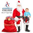 Santa Brings Spirit to Children This Holiday Season at Antonelli...