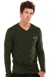 Long Sleeve V-Neck Tees from A2M USA
