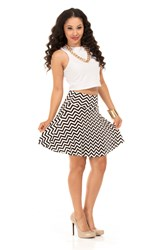 The Zigzag Skater Skirt from A2M USA™