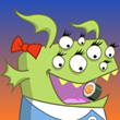 Monster Eat Sushi: Free Cooking Game App Icon