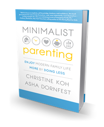 Minimalist Parenting front cover