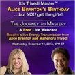 Join the Double Celebration of Alice Branton's Birthday and Her New...